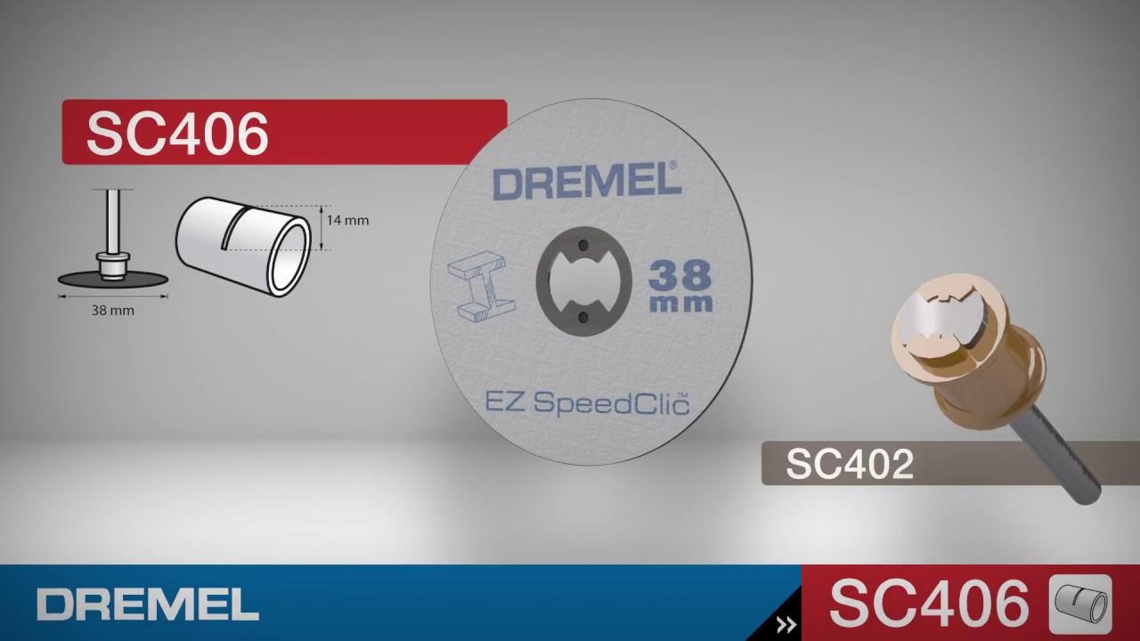 Dremel EZ Speed Clic Starter Set SC406