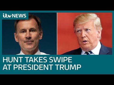 Diplomatic row between Donald Trump and the UK heats up | ITV News