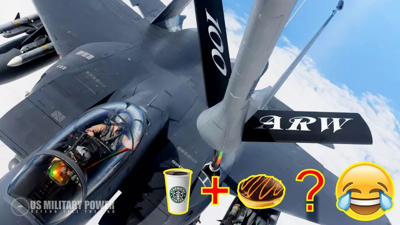 Cockpits and Coffee – KC-10 Extender in-Rlight Refueling of an F-15 Eagle