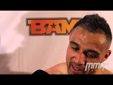 BAMMA 18: Nathan Clayton Post Fight Interview