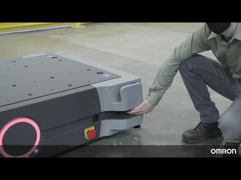OMRON HD-1500 Tutorial 8: Autonomous Mobile Robot Safety