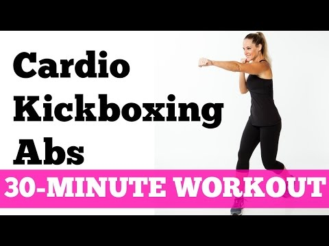 Abs Cardio Workout: 30-Minute Kickboxing Cardio Abs Full Length No Equipment