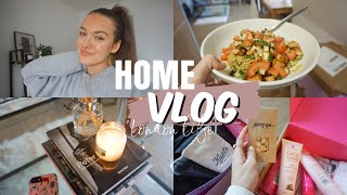 VLOG: Lockdown Routine, Yum Cooking & Working From Home / Insta Days!!!   Ames Banks