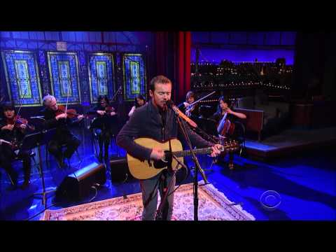 Damien Rice - I Don't Want To Change You - Letterman 2014 11 17