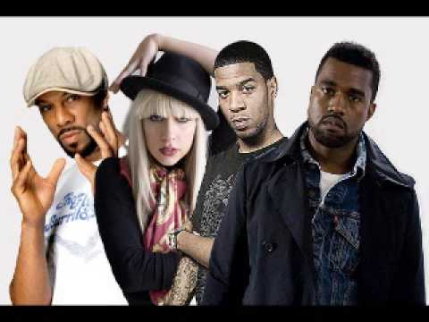 Kid Cudi  Poke her Face ft Lady Gaga, Kanye West, Common