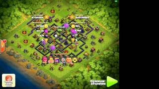 Clash of Clans - Trap base attack fails