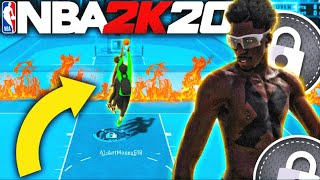 Trolling Centers with my PURE LOCKDOWN DEFENDER In HARDEST 1v1 PARK NBA 2k20...