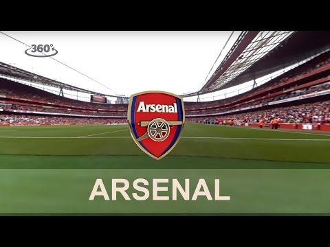 Arsenal Legends vs Milan Glorie - 360° Interactive Video