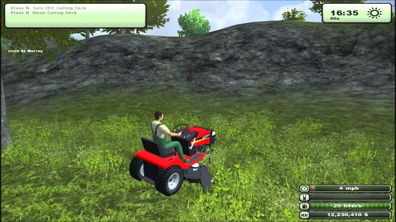 Farming Simulator 2013 Mod Spotlight Murray Lawn Tractor