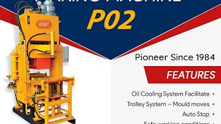 Interlocking Paver Block Machine Model P/02 - Himat Machine Tools
