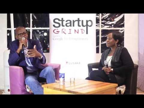 Abel Ng'andu (Ng'andu Consulting) at Startup Grind Lusaka