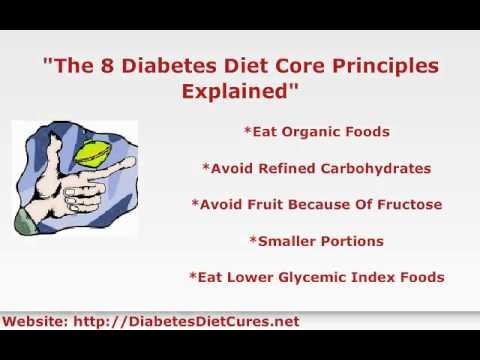 8 Diabetes Diet Core Principles