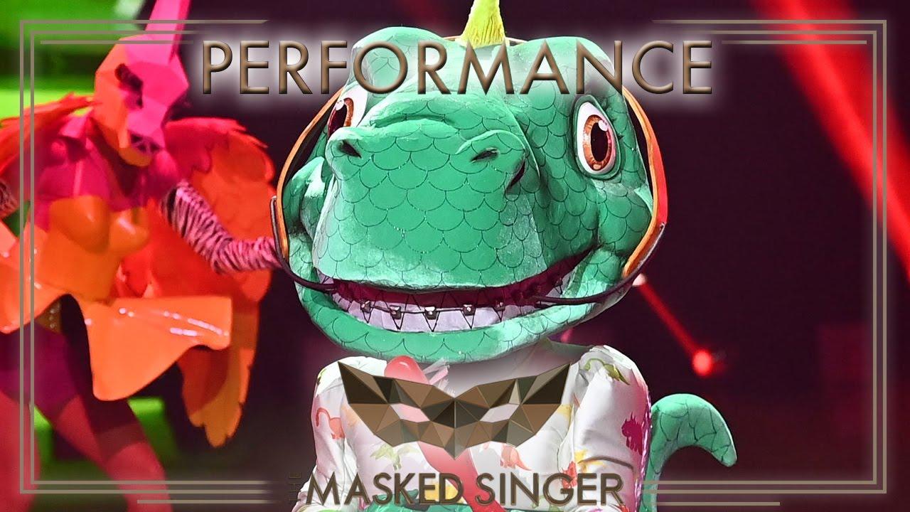 Angels – Robbie Williams | Der Dinosaurier | The Masked Singer | ProSieben