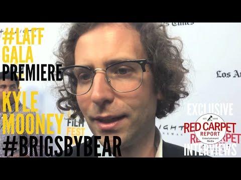 Kyle Mooney interviewed at Brigsby Bear *Gala Premiere* at #LAFF #BrisgbyBear