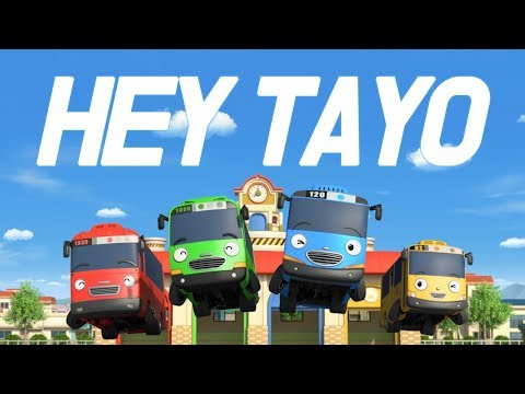 Hey Tayo Official Music Video l Share your own #HeyTayo l Tayo Opening Song