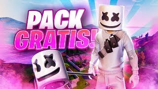 HOW TO UNLOCK THE NEW *PACK MARSHMELLO* FREE IN FORTNITE!!