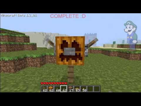 how to build herobrine totem