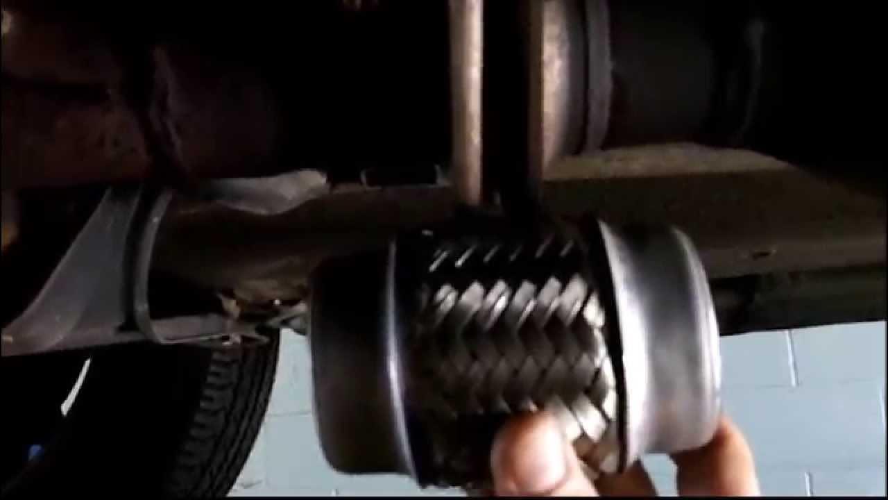 Toyota Sienna Flex Pipe Repair At Lou's Custom Exhaust