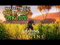 Assassins creed origins core i7 7700k gtx 1070 oc 8gb max settings fps counter full hd mp3
