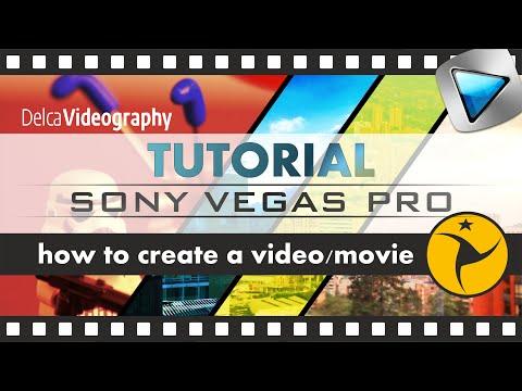 TUTORIAL: CÓMO crear y editar vídeos con Sony Vegas Pro 10, 11, ...
