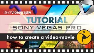 TUTORIAL: CÓMO crear y editar vídeos con Sony Vegas Pro 10, 11, 12 y 13  para principiantes