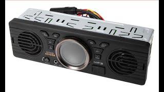 магнитола со встроенными динамиками и Bluetooth с Aliexpress