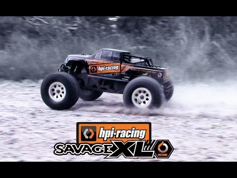 HPI SAVAGE XL OCTANE - RUNNING!