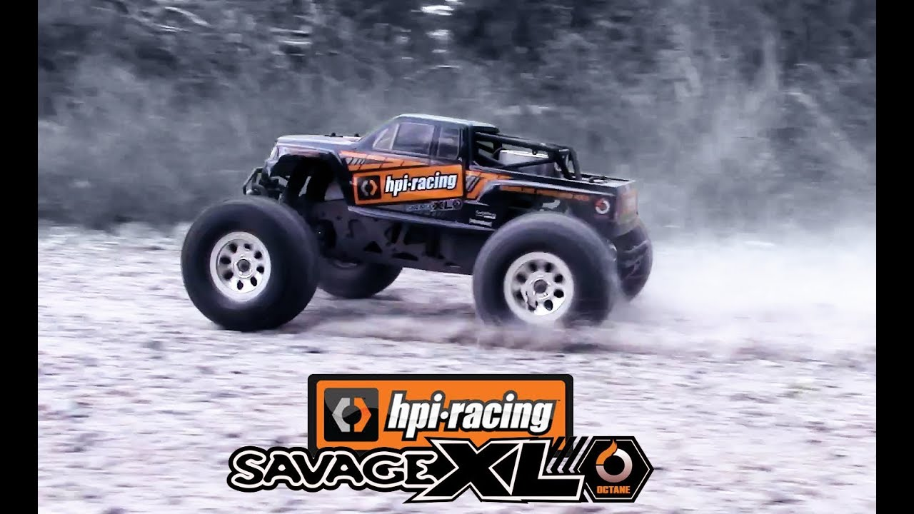 Hpi Savage Xl Octane Running Youtube