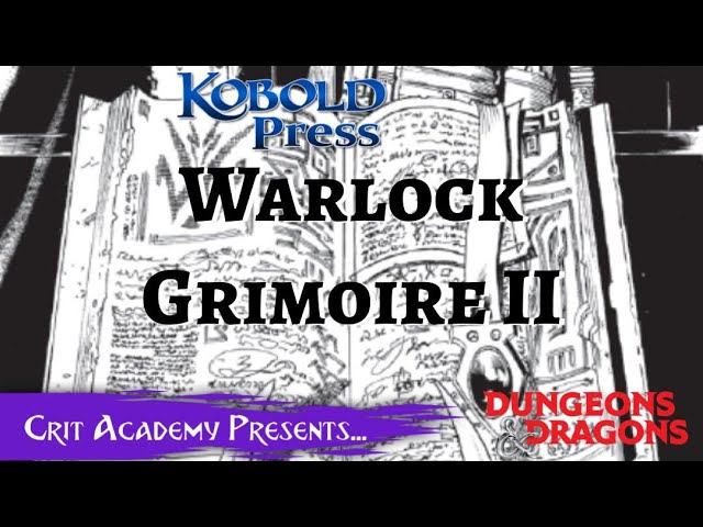 Warlock Grimoire 2 | Kobold Press