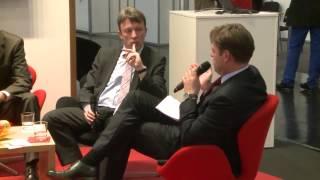 INTERGEO 2013 -- Der Talk: Was die Wirtschaft braucht -- GeoBusiness und Datenschutz!...