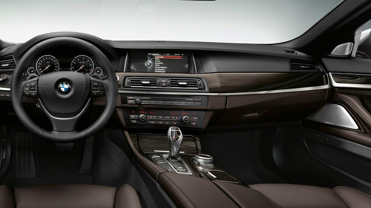 Bmw 530 Interior: BMW 530d Sedan Luxury Line Interior