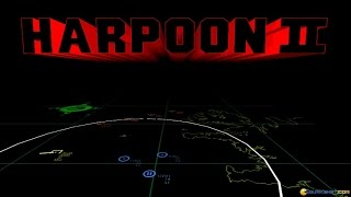 Harpoon II gameplay (PC Game, 1994)