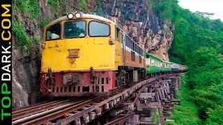 15 Ferrocarriles Más Peligrosos del Mundo