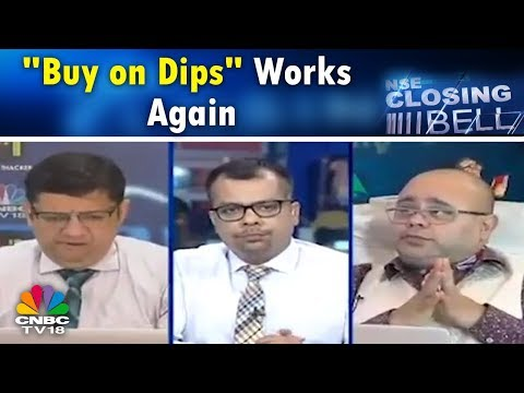 """Closing Bell (17th Apr)   """"Buy on Dips"""" Works Again, Twice Over; IT Stocks Recover From Lows"""