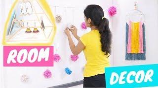 DIY Room Decor Ideas 2018! Easy And Budget Friendly | Dhwani Bhatt