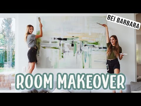 Artwork with abstract background, simple tools, acrylic, portrait from YouTube · Duration:  16 minutes 27 seconds