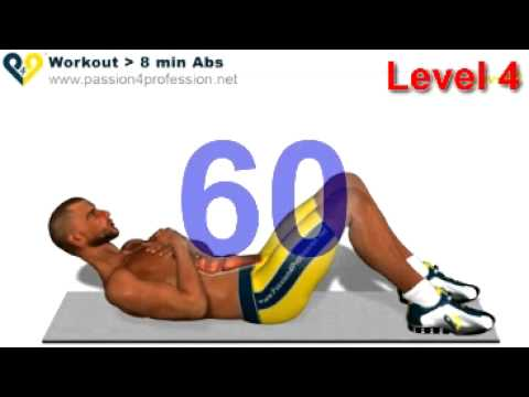 Abs workout how to have six pack – Level 4