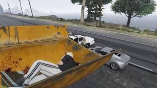 Приколы в GTA 5 УГАРНЫЙ БУЛЬДОЗЕР