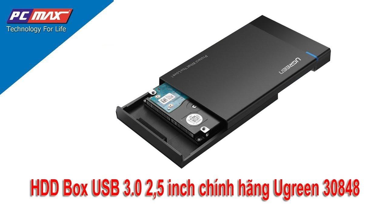 Hướng dẫn biến ổ cứng cũ thành thiết bị lưu trữ di động với Ugreen 30847 – PCMAX