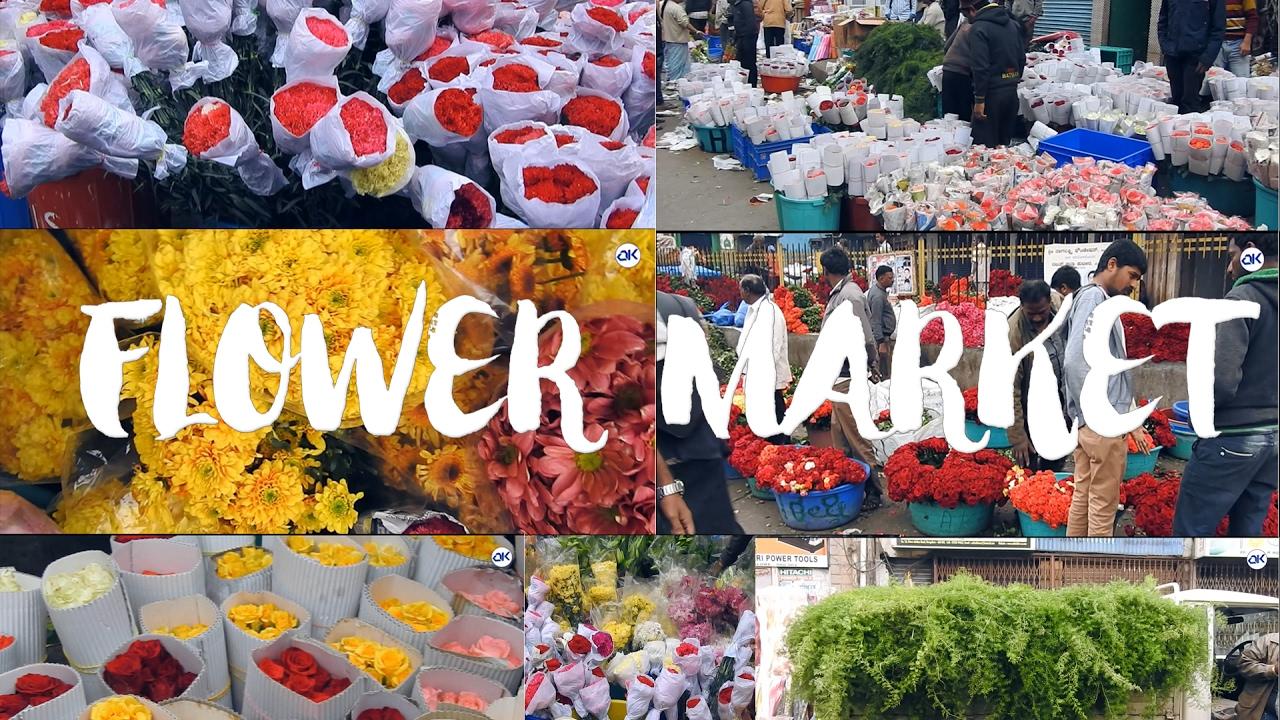 Bangalore Flower Market Best Place To Buy Best Flowers