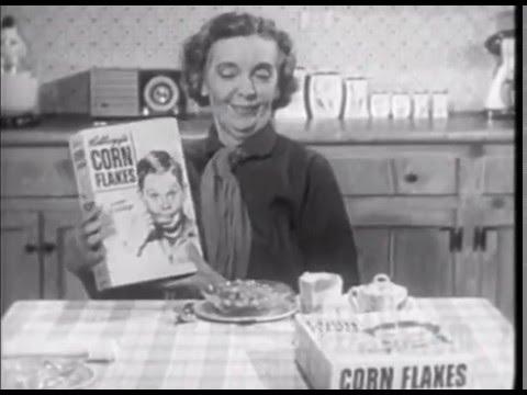 ZA ZU PITTS & SUPERMAN 1954 FOR KELLOGGS CORN FLAKES