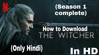 How to download (The witcher) in hindi HD