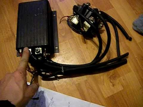 Curtis Dc Speed Controller Youtube