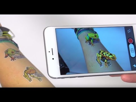California Tattoos Augmented Reality Tattoos