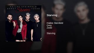 Hailee Steinfeld & Grey - Starving (feat Zedd) [Audio Spectrum Review #1] {with download link}