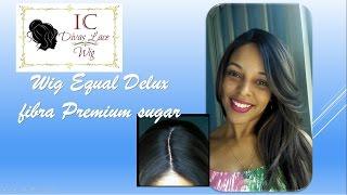 Resenha Wig Equal Delux Fibra Premium Sugar