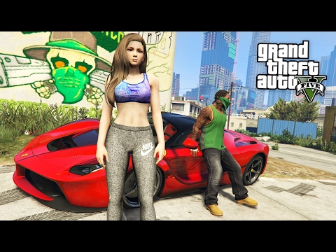 GTA 5 Real Life Thug Mod #31 - NEW GIRLFRIEND!! (GTA 5 Mods)