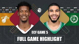 Miami Heat vs. Boston Celtics [GAME 5 HIGHLIGHTS] | 2020 NBA Playoffs