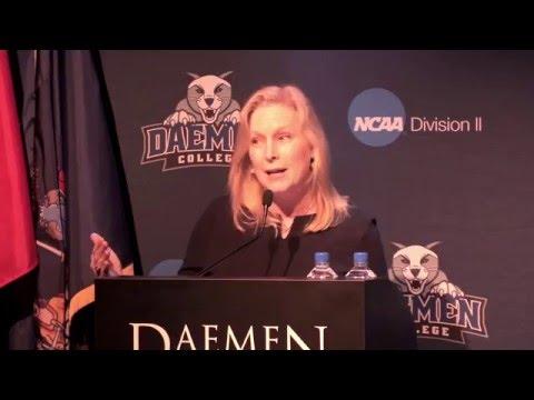 Senator Kirsten Gillibrand Speaks To Kickoff National Girls And Women In Sports Week