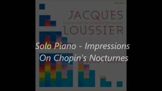 Nocturne No  6 In G Minor, Op  15, No  3 Jacques Loussier